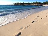 Quelques pas sur la plage