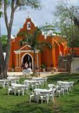 L'église orange de Valladolid