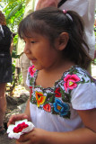 la jeune maya du village