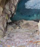 Escalier du petit cenote