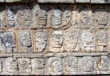 Tzompantli ou le mur aux têtes de morts