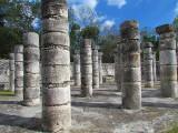 Partie de l'allée des mille colonnes