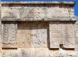 bas-relief plateforme des jaguars et des aigles