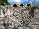 pas de clef de voute chez les mayas