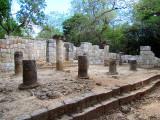 Ruines près du cenote effondré
