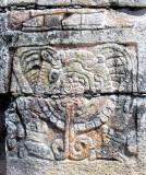détail, temple des guerriers