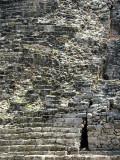 L'escalier reconstruit