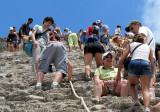 Une montée à la verticale Nohoch Mul