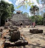 Temple et photographes