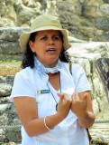 Laura,  notre guide passionnée