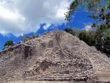 Nohoch mul la plus haute pyramide du Yucatan