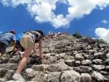 L'escalade du Nohoch Mul