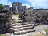 les escaliers du château