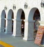 arcades à Valladolid, place centrale