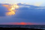 lever de soleil en deux tons