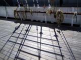 cordage sur le pont