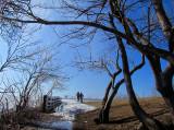 Promenade au bord de la Chaudière