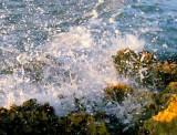 la vague pulvérisée