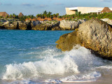 crépitement des vagues sur la plage