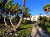 de la plage à l'hôtel