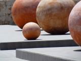 les boules oranges