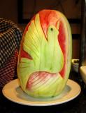 L'oiseau melon d'eau