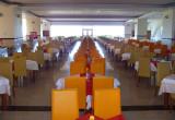 salle à manger en point de fuite