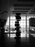 sculpture au  lobby