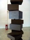 sculpture cubique