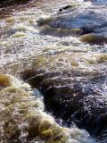 Les rapides de la rivière