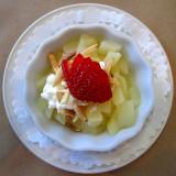 dessert aux poires