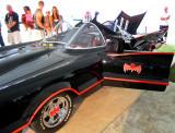Batmobile with open door