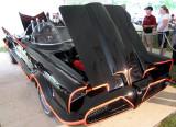 Batmobile  with open hood