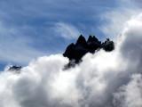 Les montagnes sorties des nuages