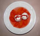 Deux boules vanille aux clémentines