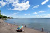 plage à l'ile d'Orléans