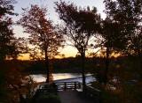 dernière lueur sur l'automne