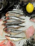 Sardines et citron