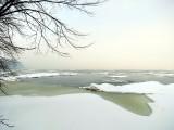 Vue sur un Saint-Laurent à marée haute