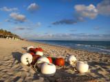 bouées sur plage
