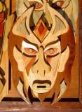 masque de bois