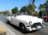 Cadillac blanche