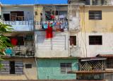 Les balcons dans la ville