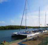 le port des catamarans