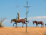 Don Quichotte, Rossinante et Rucie