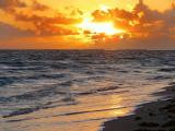 La plage de Varadero à l'aube