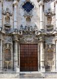 La grande porte de la cathédrale