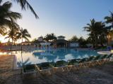 La piscine du Tryp Peninsula