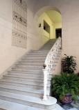 escalier d'hotel