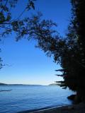 À l'ombre de la plage Gagnon